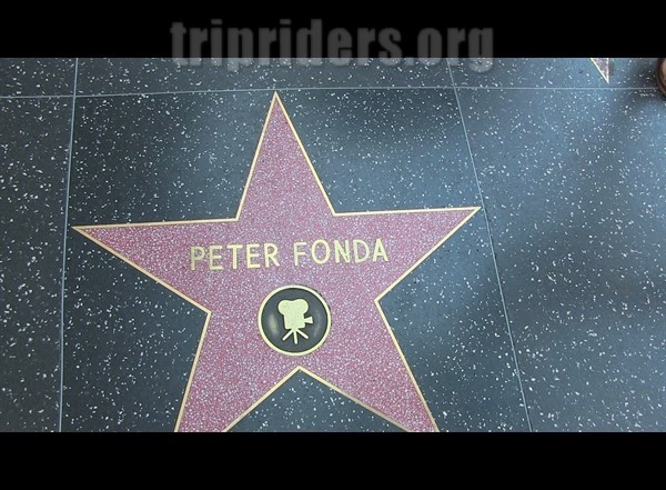 Etoiles d'hollywood Peter Fonda