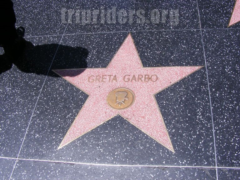 Etoiles d'hollywood Greta Garbo