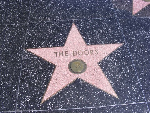 Etoiles des Doors à Hollywood