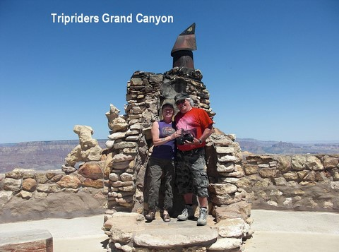 tripriders au Grand Canyon